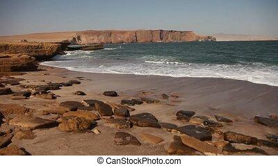Coastline, Paracas, Peru