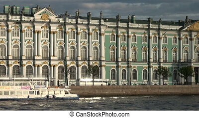The Hermitage in St Petersburg - The Hermitage, the Winter...
