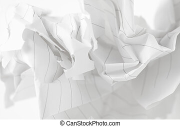 abstract wrinkled paper