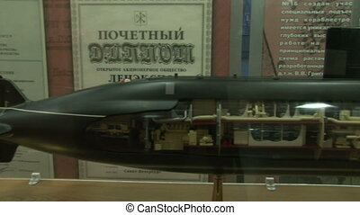 Models of submarines