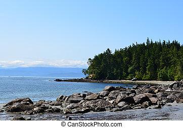 Vancouver Island East Sooke Park Shoreline - East Sooke Park...