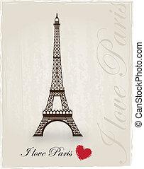 miłość, Paryż