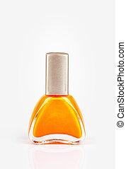 Nail polish - orange color Nail polish