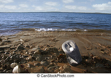 industrial waste 3 - the waste that washes up on our...