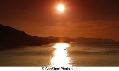 Sunrise on the Black Sea Coast