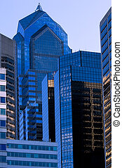 Two Liberty Place - Famous Philadelphia skyscraper in Center...