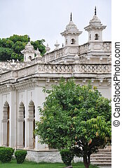 Chowmahalla Palace in Hyderabad, India