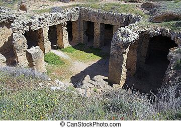 tumbas, reyes, Papho