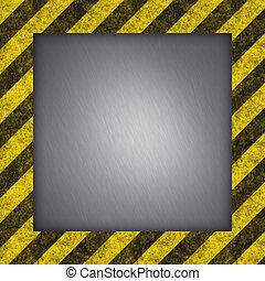 Hazard Stripes - Diagonal hazard stripes texture These are...