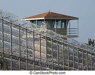 Razor Wire-Maximum Security - Wire made of sharp, razor like...