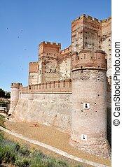Castle of La Mota Wall (Vertical) - Wall of Castle of La...