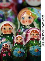Matryoshka - Traditional Russian nestling dolls