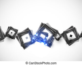 Vector abstract square background
