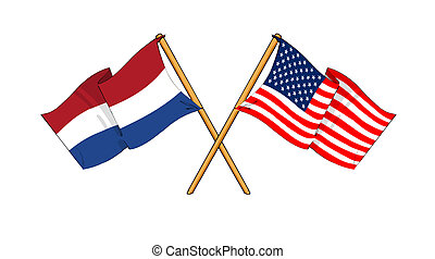 America and Netherlands alliance and friendship -...