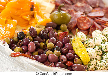 Antipasto - Traditional platter of Italian antipasto