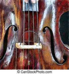 violon, 2