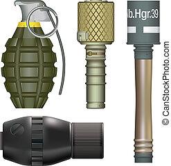 World War Two Hand Grenades