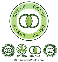 No genetic modified food label - Not genetically modified...