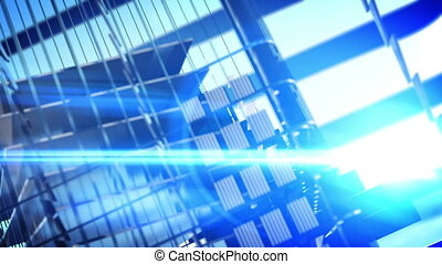 Architectural abstract background