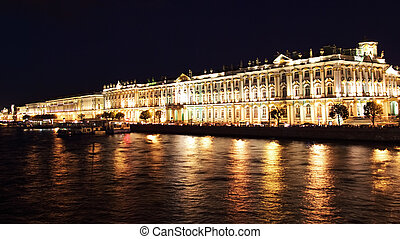 Winter Palace. St. Petersburg, Russia