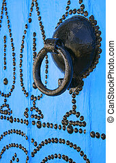 Door knocker in tunisian arabic style - This picture...