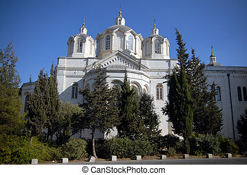 Israel Travel Photos - Jerusalem - The Holy Trinity church...