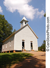Smoky Mountains Methodist church - Smoky Mountains,...