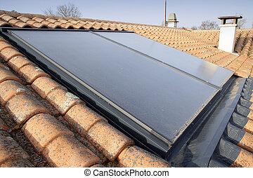 Solar powered household