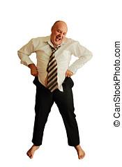 fat man can not wear pants