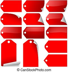 Red Tags Collection - red label variations