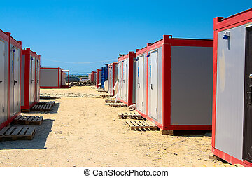 office containers - Module for recreation and social needs...