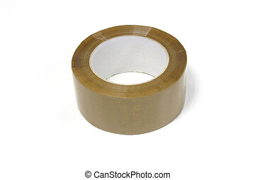 Brown sticky tape