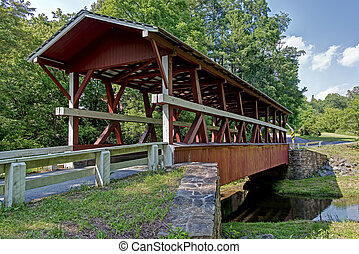 Covered Bridge - Covered bridge located in south central PA