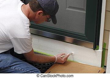 Painting Below Front Door