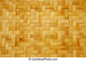 bamboo - woven bamboo material for making baskets and trays