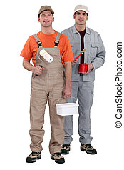 two house painters