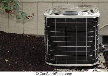 Air Conditioner - Free standing air conditioner in the...