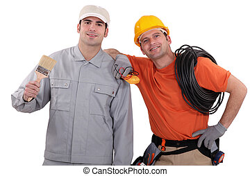 Painter and an electrician