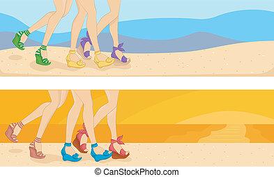 Beach Header