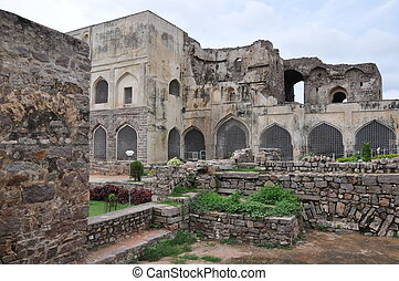 Golconda Fort in Hyderabad