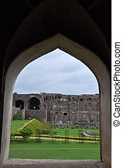 Golconda Fort in Hyderabad, India