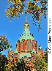 Helsinki, Uspensky Cathedral - One of the main landmarks of...