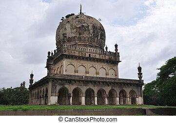Qutub, Shahi, tumbas, Hyderabad