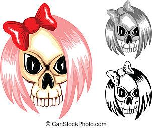 skull emo