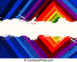 colorful tunnel - 3d colorful tunnel with white space for...