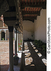 cloister - a nice view of a cloister