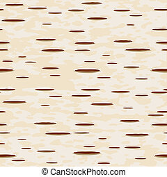 Birch bark - Vector illustration - birch bark seamless...