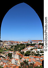 Lisbon, Portugal - Lisbon panorama, Portugal buildings,...