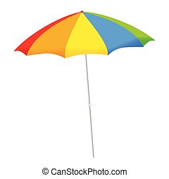 umbrella vector illustration - umbrella color vector...