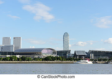 China Import and Export Fair Convention Center near the...